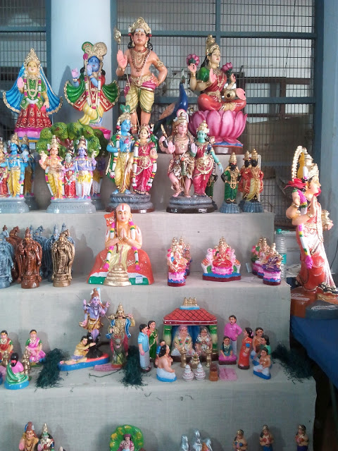 navarathri golu gods and goddess theme