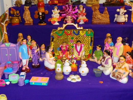 navarathri golu marriage theme
